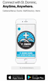 St. Dominic School Has A New Mobile App!