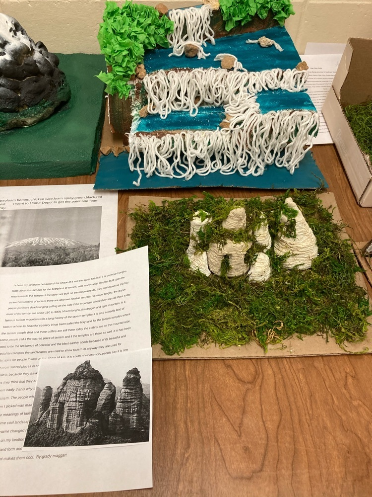 Great job on Landforms 6th grade.